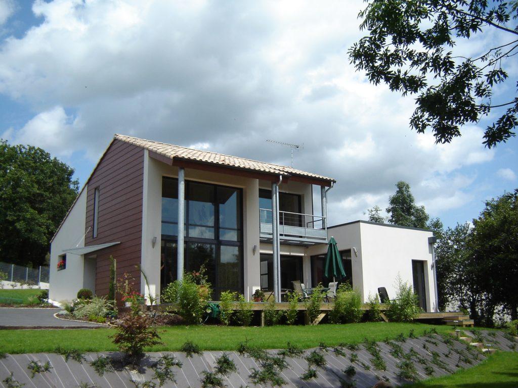 constructeur maison moderne vendee